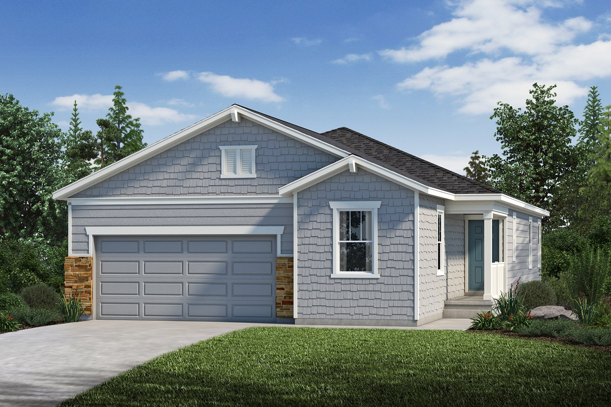 New Homes in Loveland, CO - The Lakes at Centerra Plan 1887 Elevation C