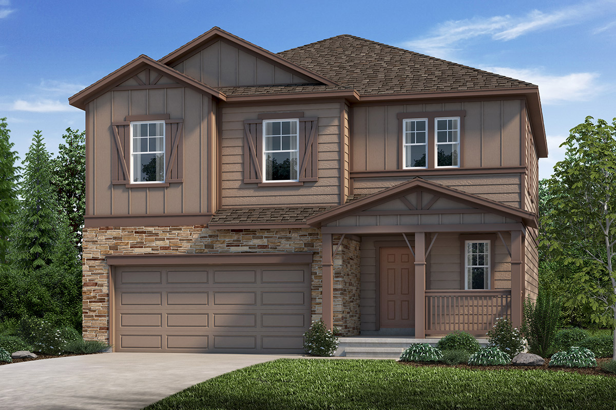New Homes in Loveland, CO - Plan 1923 Elevation B