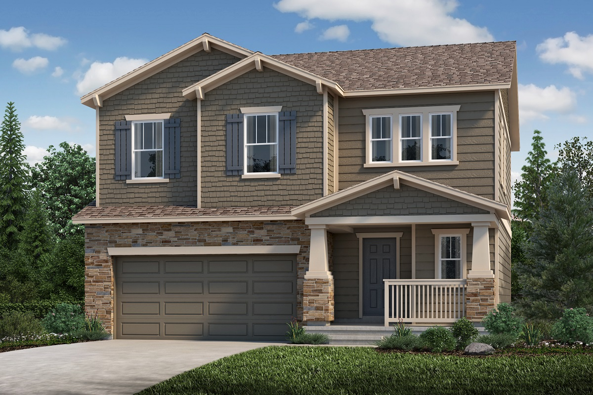 New Homes in Loveland, CO - Plan 1923 Elevation C