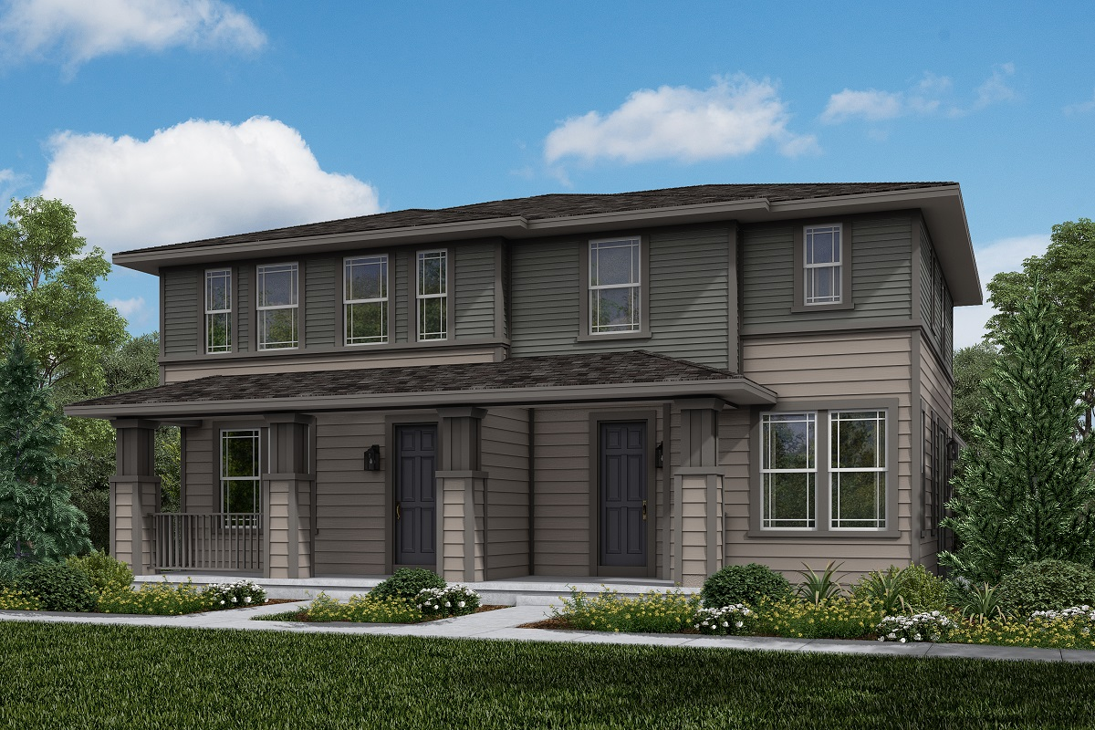New Homes in Erie, CO - Plan 1671 & Plan 1430 Elevation 1