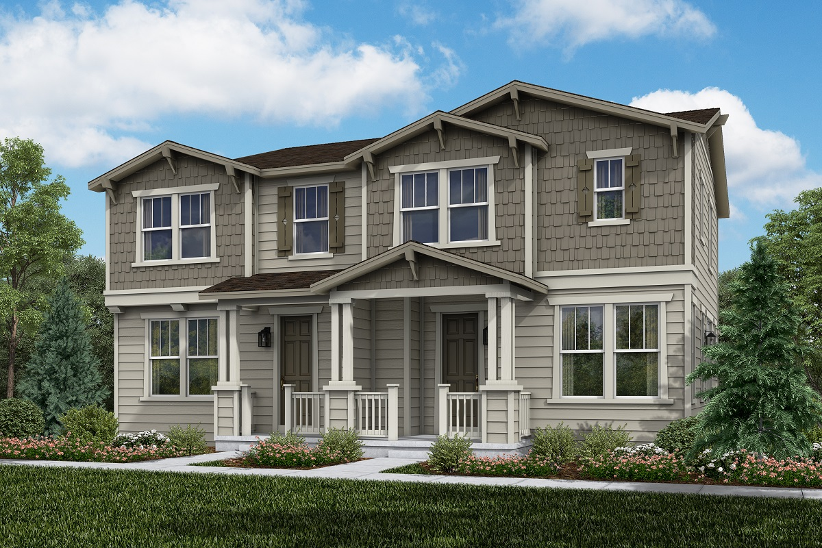 New Homes in Erie, CO - Colliers Hill Villas Plan 1671 & Plan 1430