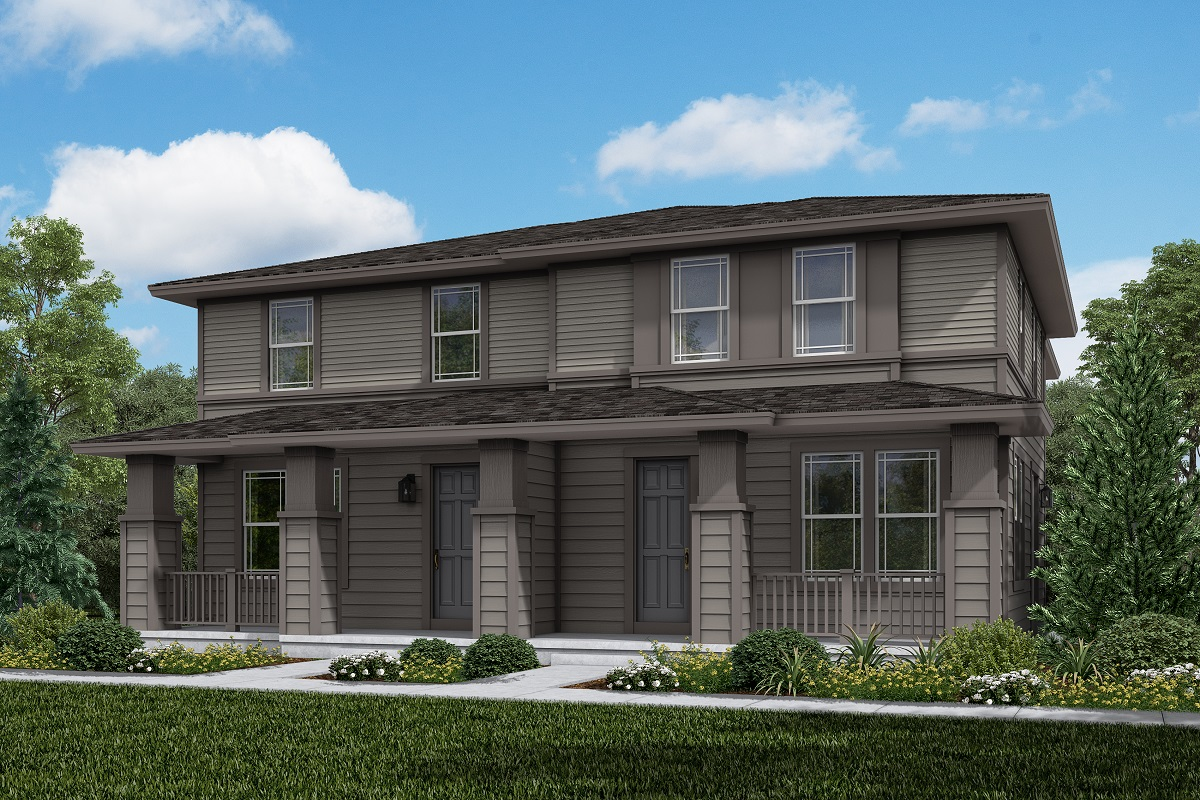 New Homes in Erie, CO - Plan 1671 & Plan 1671 Elevation 2