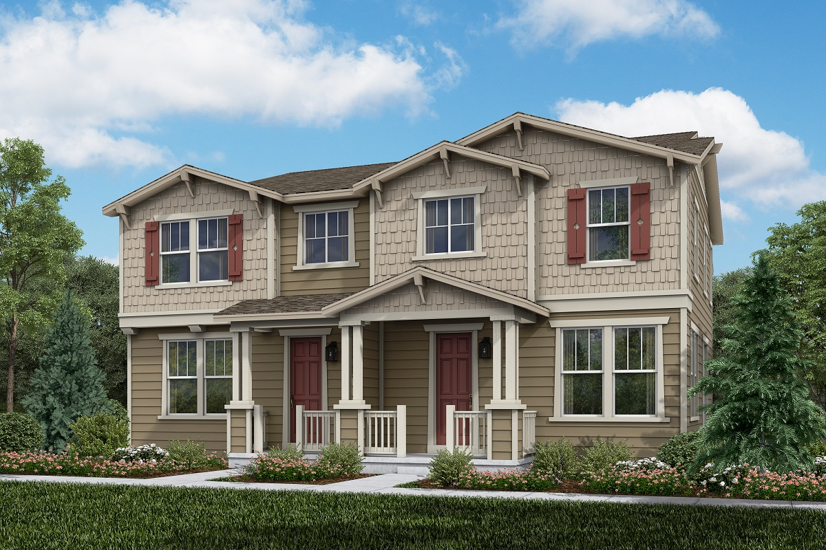 New Homes in Erie, CO - Plan 1671 & Plan 1671 Elevation 2A