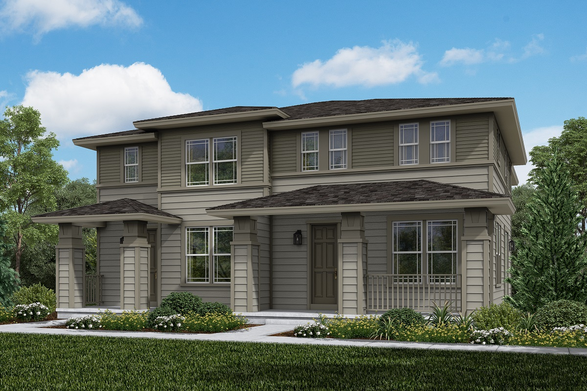 New Homes in Erie, CO - Colliers Hill Villas Plan 1754 & Plan 1671