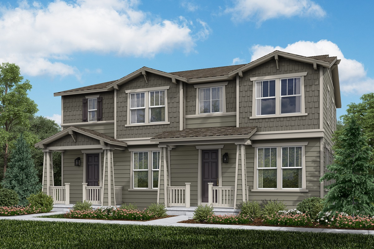 New Homes in Erie, CO - Plan 1754 & Plan 1671 Elevation 4A