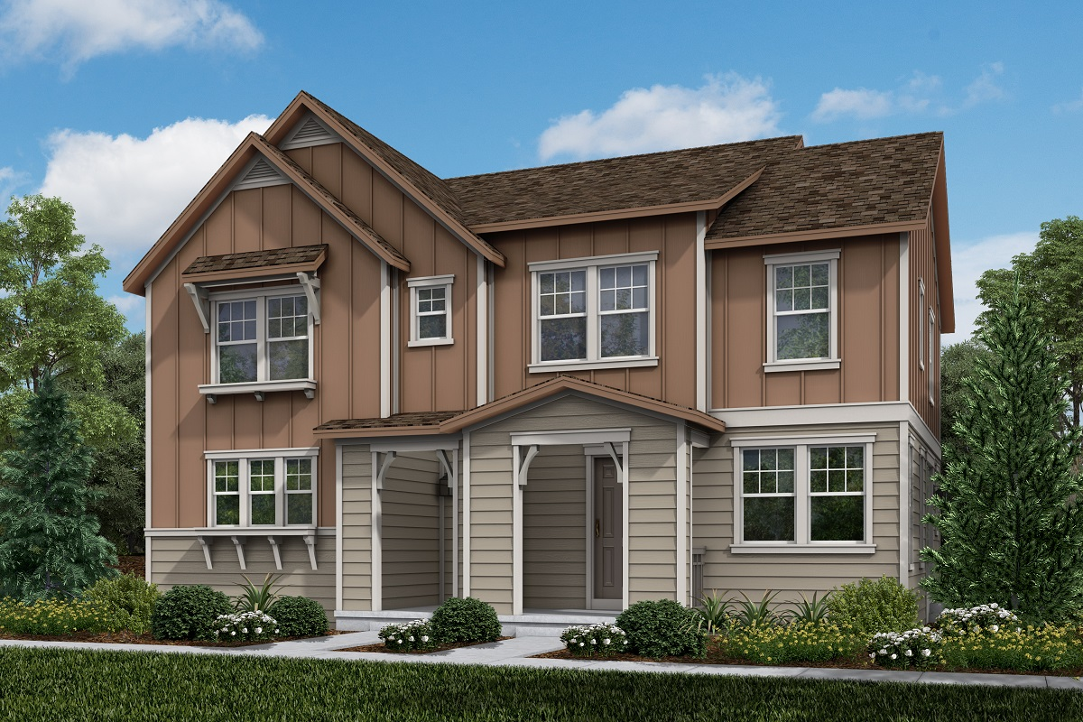 New Homes in Erie, CO - Colliers Hill Villas Plan 1934 & Plan 1430