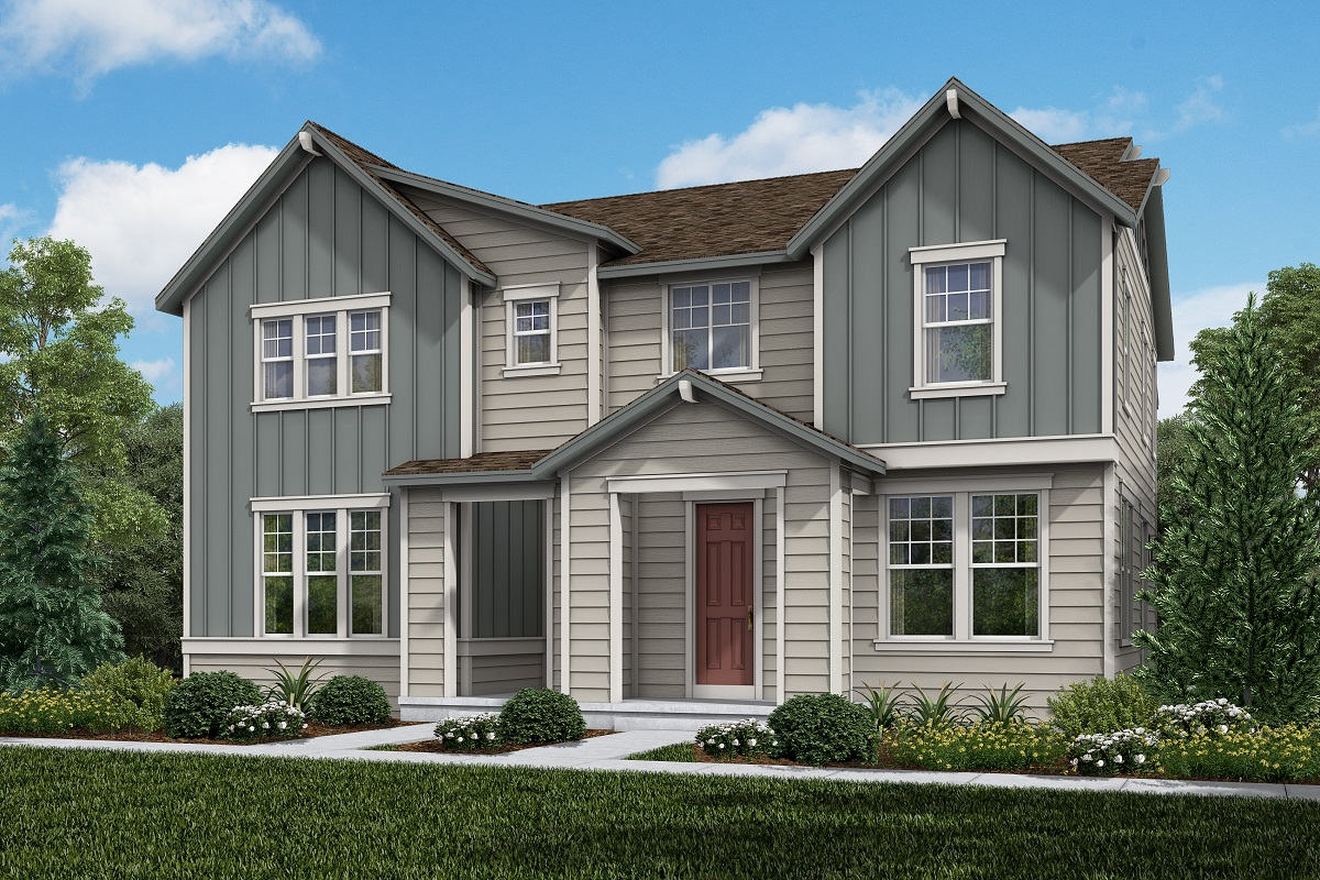 New Homes in Erie, CO - Plan 1934 & Plan 1671 Elevation 7A