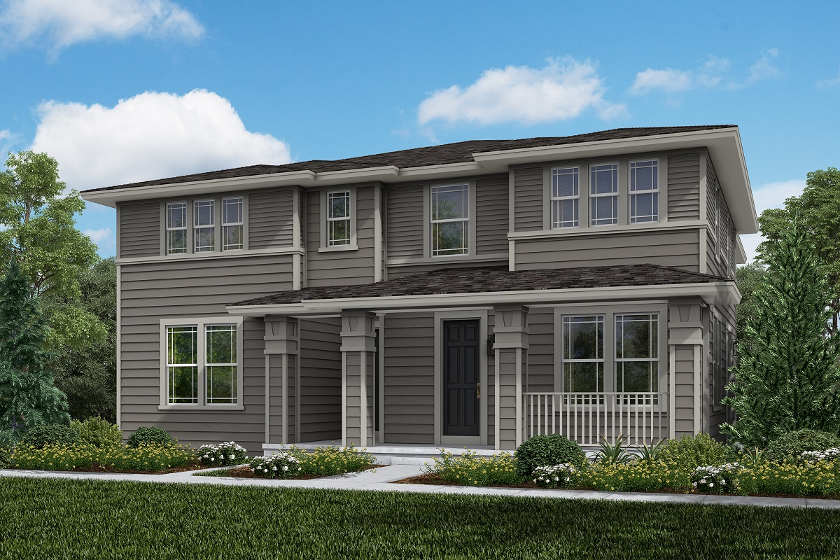 New Homes in Erie, CO - Plan 1934 & Plan 1671 Elevation 7B