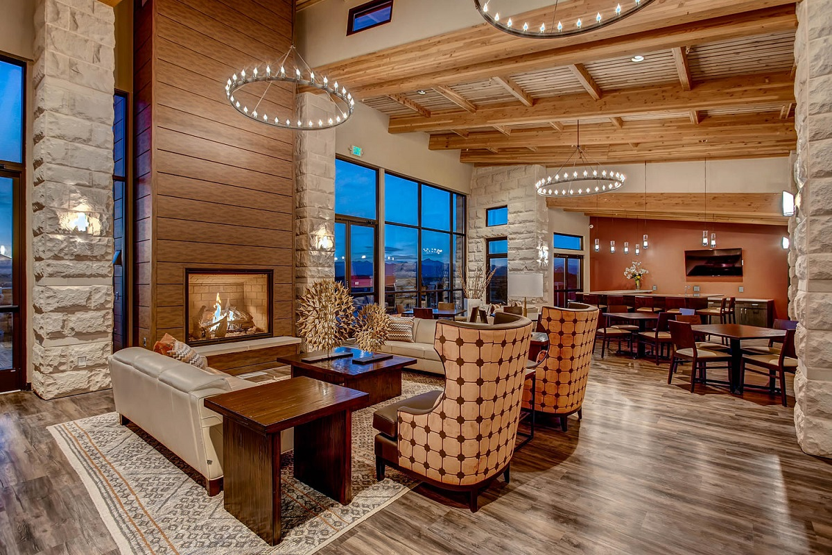 New Homes in Erie, CO - Colliers Hill Villas The Overlook Community Center