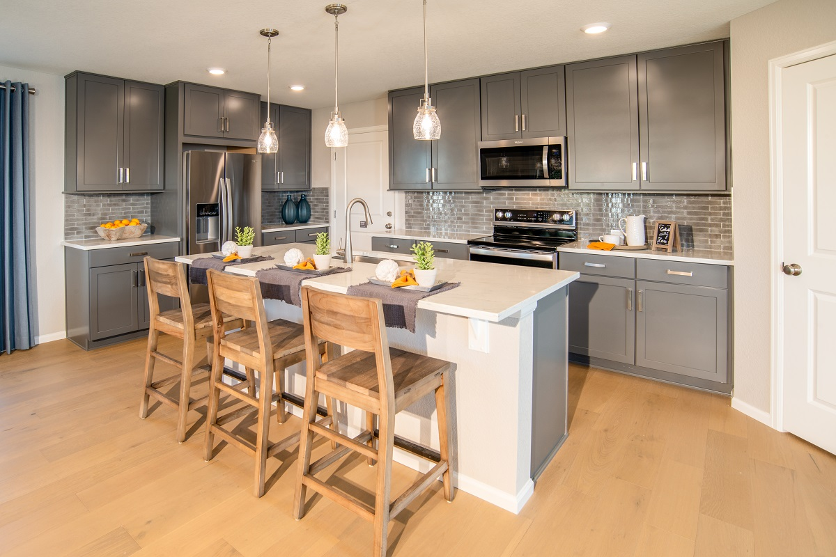 New Homes in Aurora, CO - Copperleaf Plan 2193 - Kitchen