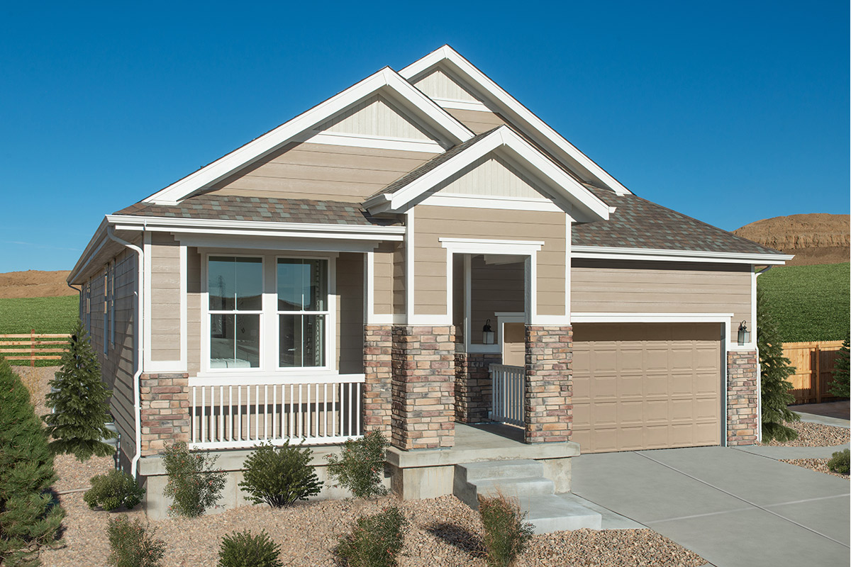 New Homes in Aurora, CO - Copperleaf Plan 1942 Modeled