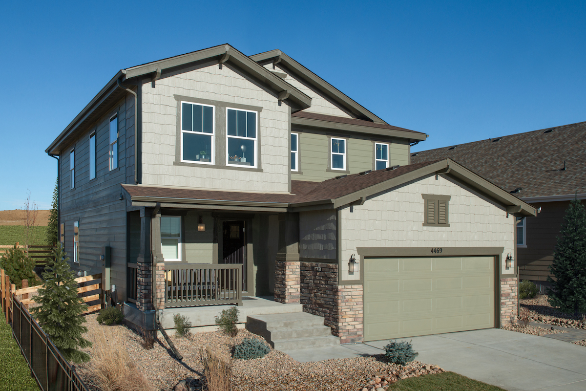 New Homes in Aurora, CO - Copperleaf Plan 2193 - Elevation C