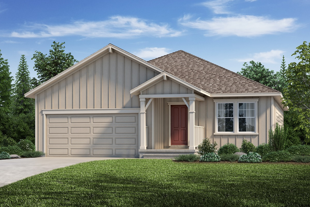 New Homes in Aurora, CO - Plan 1685 - Elevation A