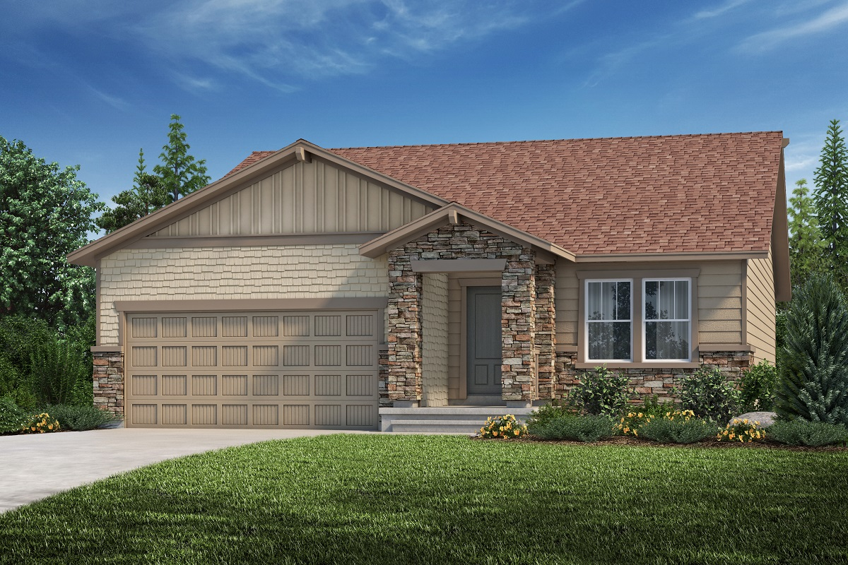 New Homes in Aurora, CO - Copperleaf Plan 1685 - Elevation C