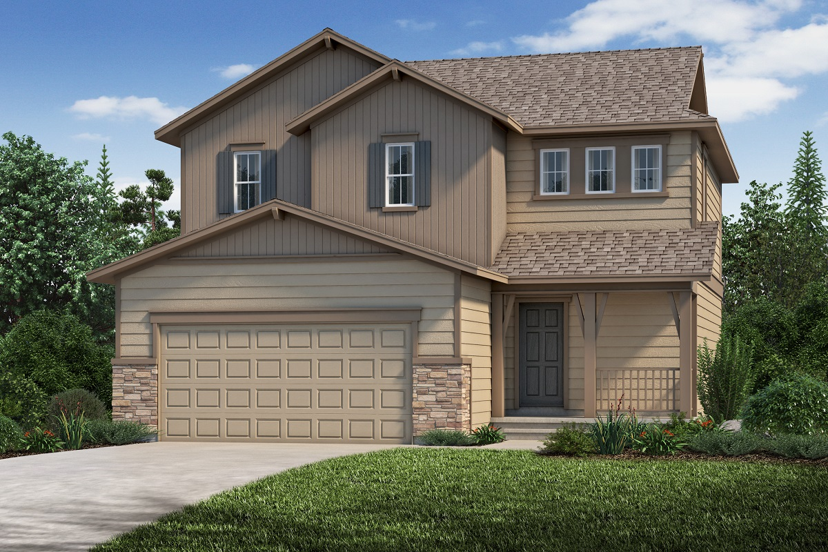 New Homes in Aurora, CO - Copperleaf Plan 1695 - Elevation B