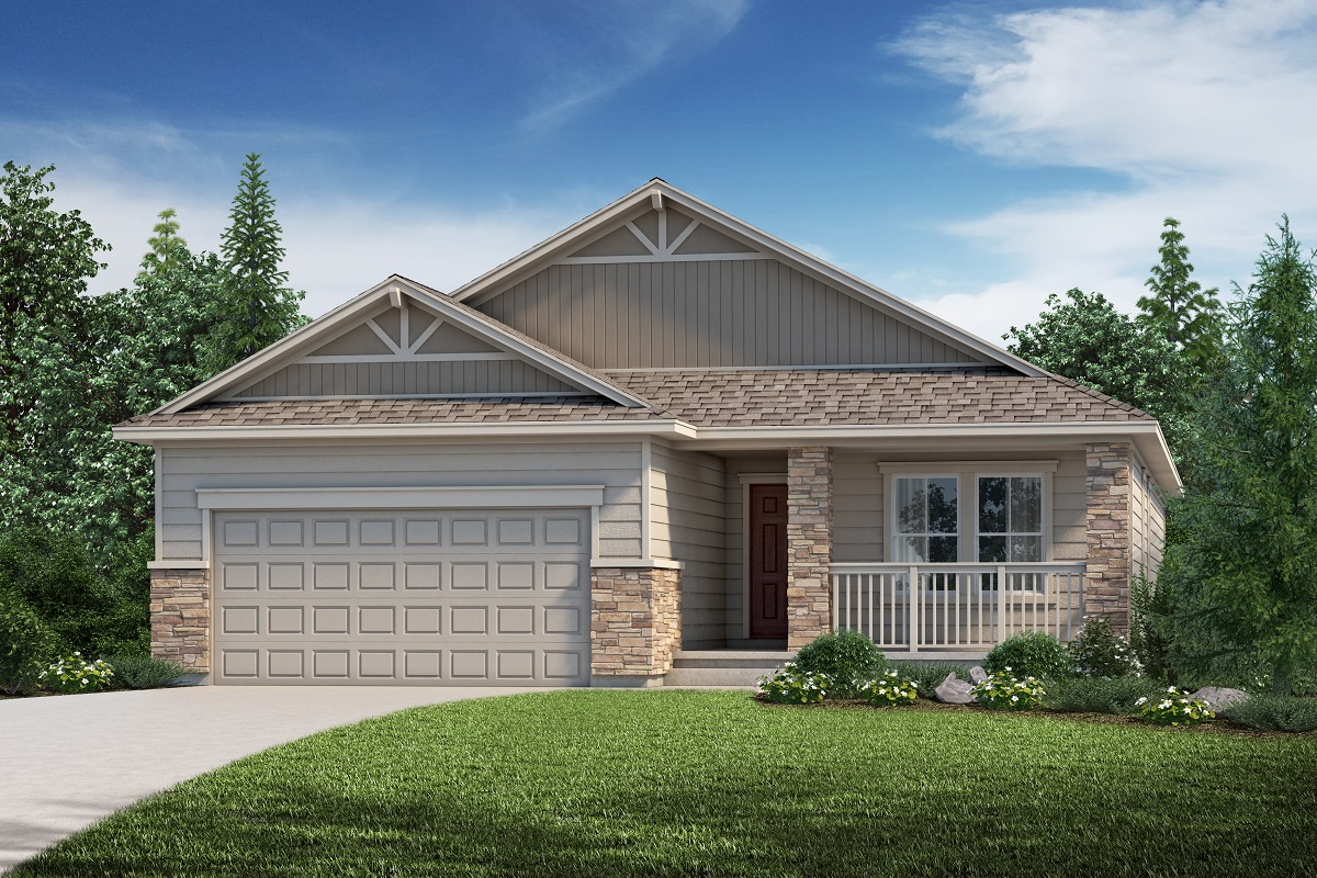 New Homes in Aurora, CO - Plan 1818 - Elevation B