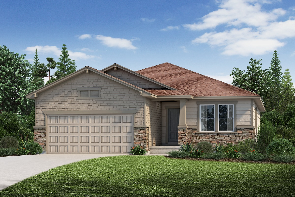 New Homes in Aurora, CO - Plan 1818 - Elevation C