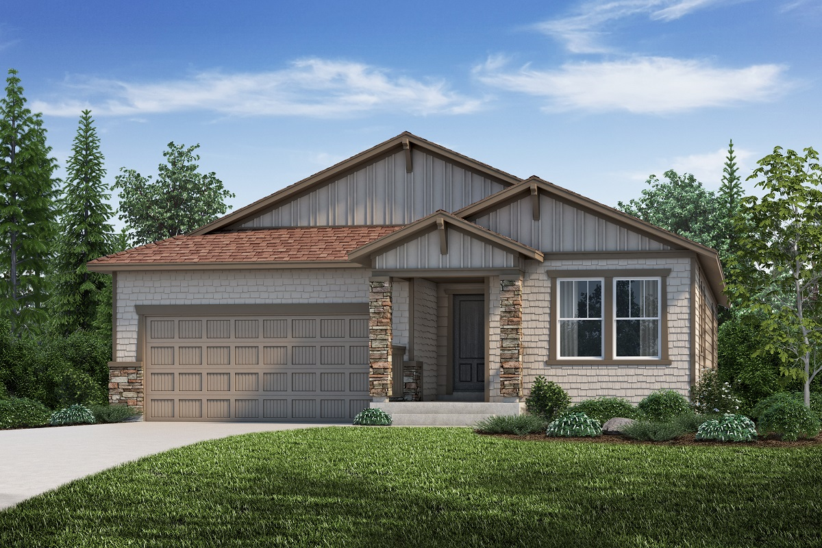 New Homes in Aurora, CO - Plan 1942 - Elevation C