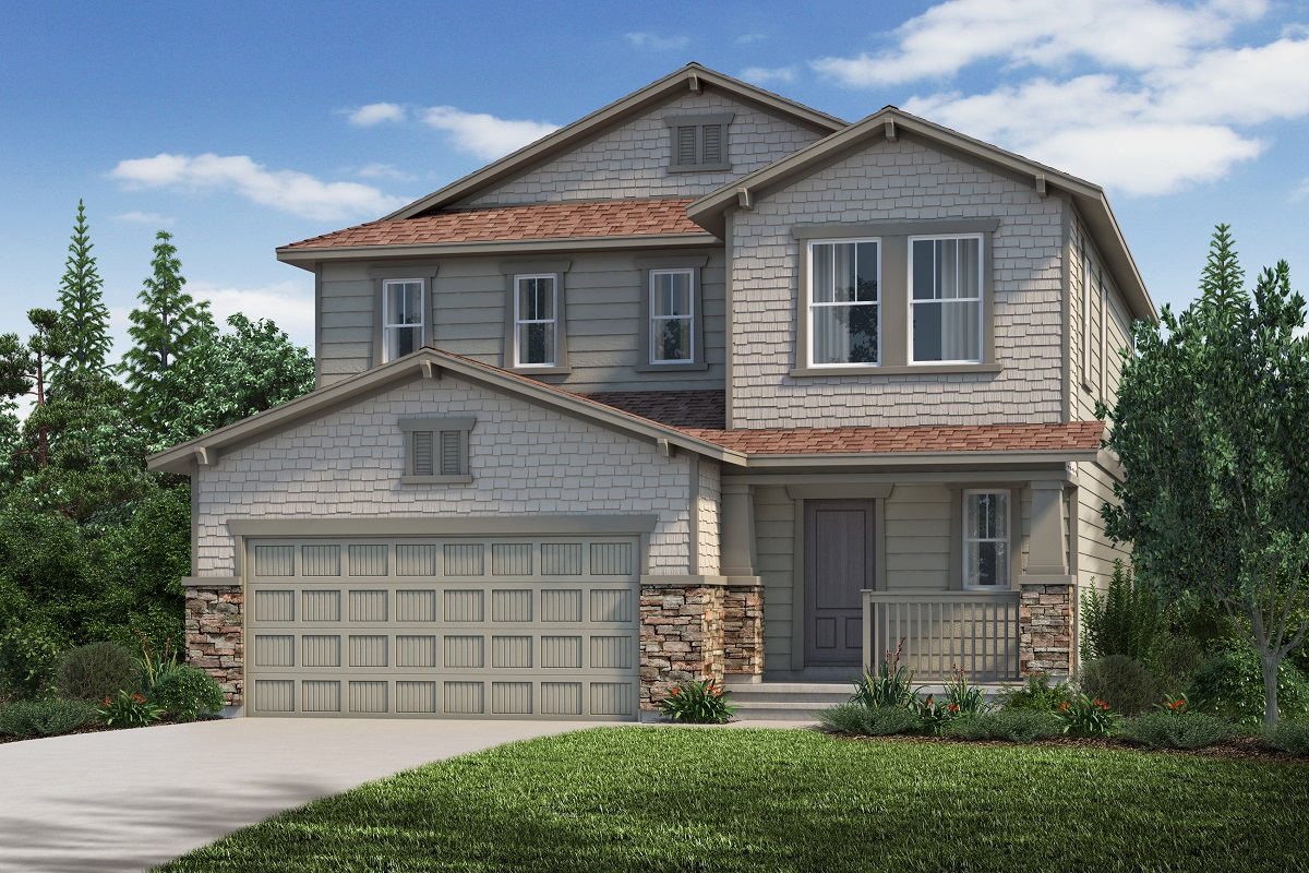 New Homes in Aurora, CO - The Kittredge - Elevation C