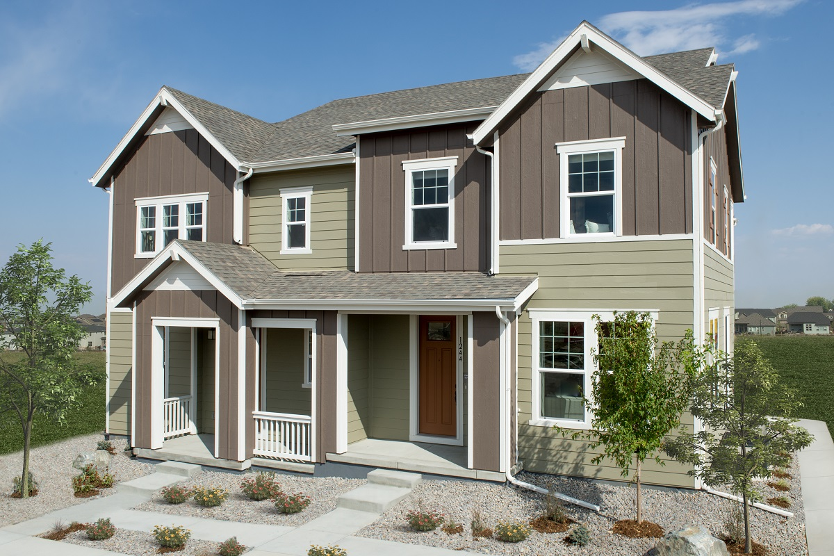New Homes in Erie, CO - Plan 1671 Modeled