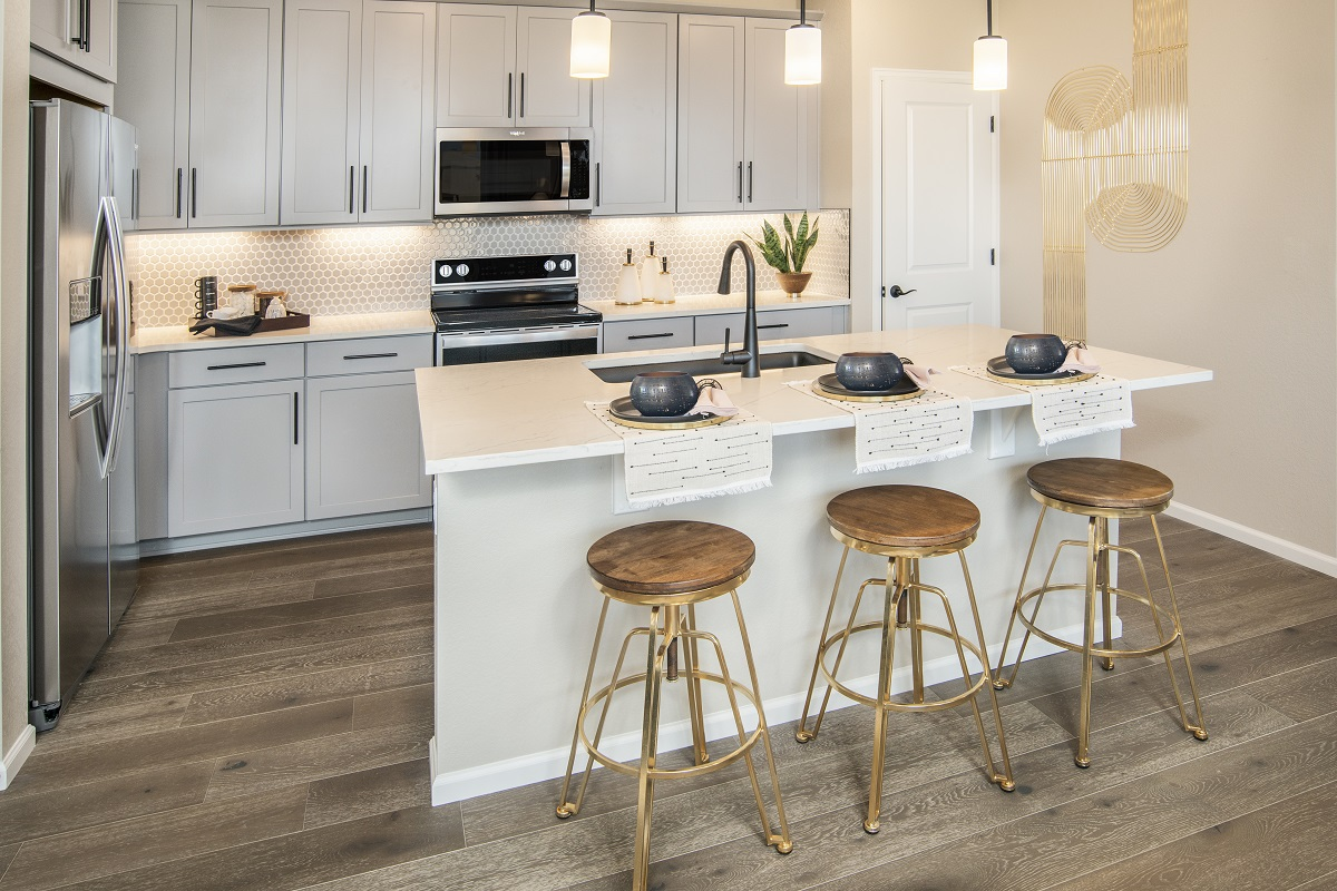 New Homes in Erie, CO - Flatiron Meadows Villas Plan 1963 Kitchen