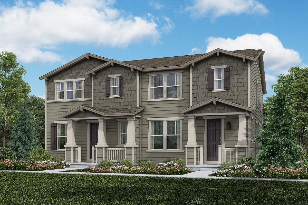New Homes in Erie, CO - Plan 1963 & Plan 1754 Elevation 16A