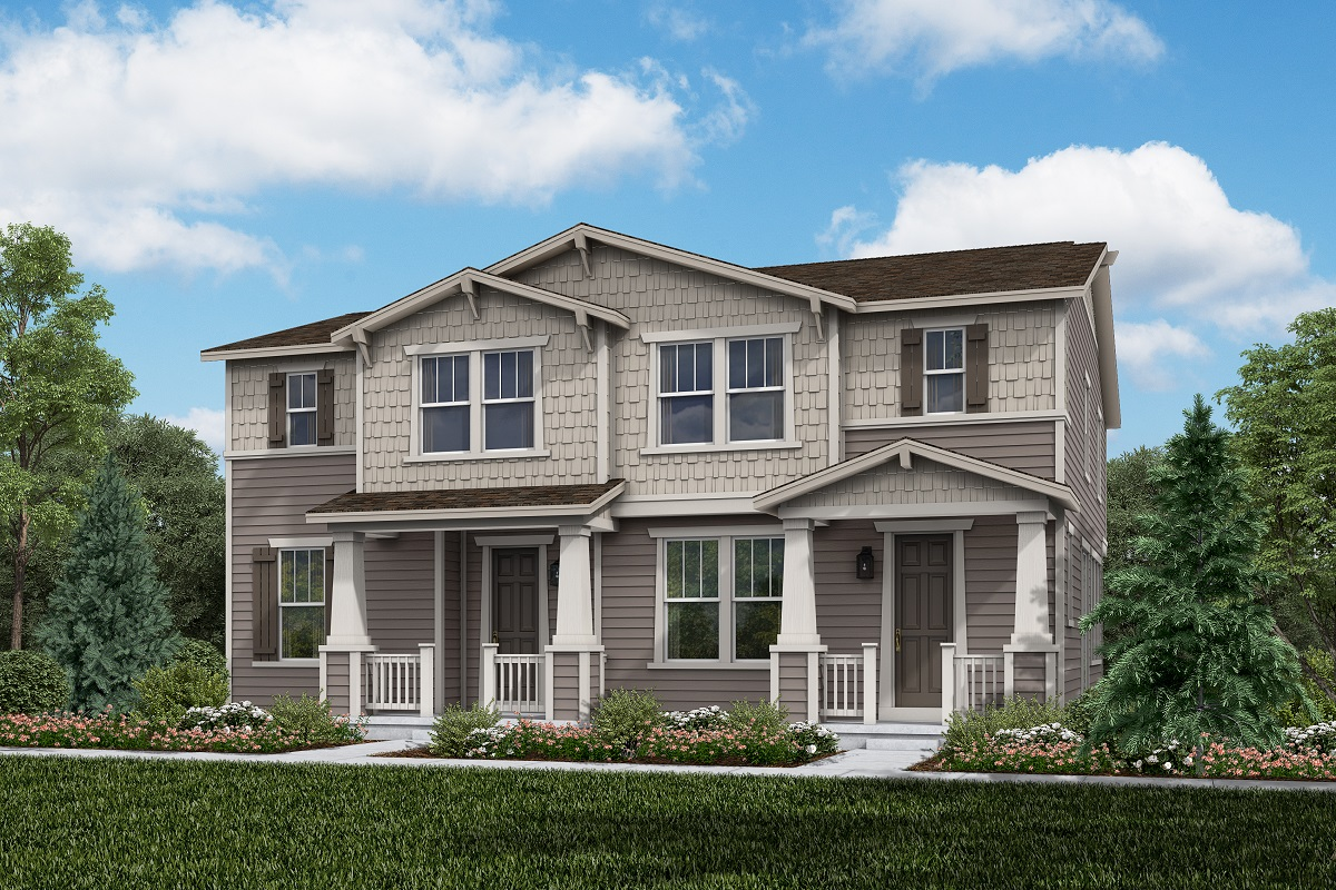 New Homes in Erie, CO - Plan 1430 & Plan 1754 Elevation 3A