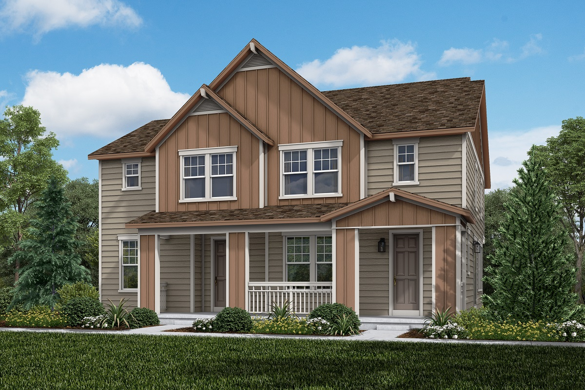 New Homes in Erie, CO - Plan 1430 & Plan 1754 Elevation 3B