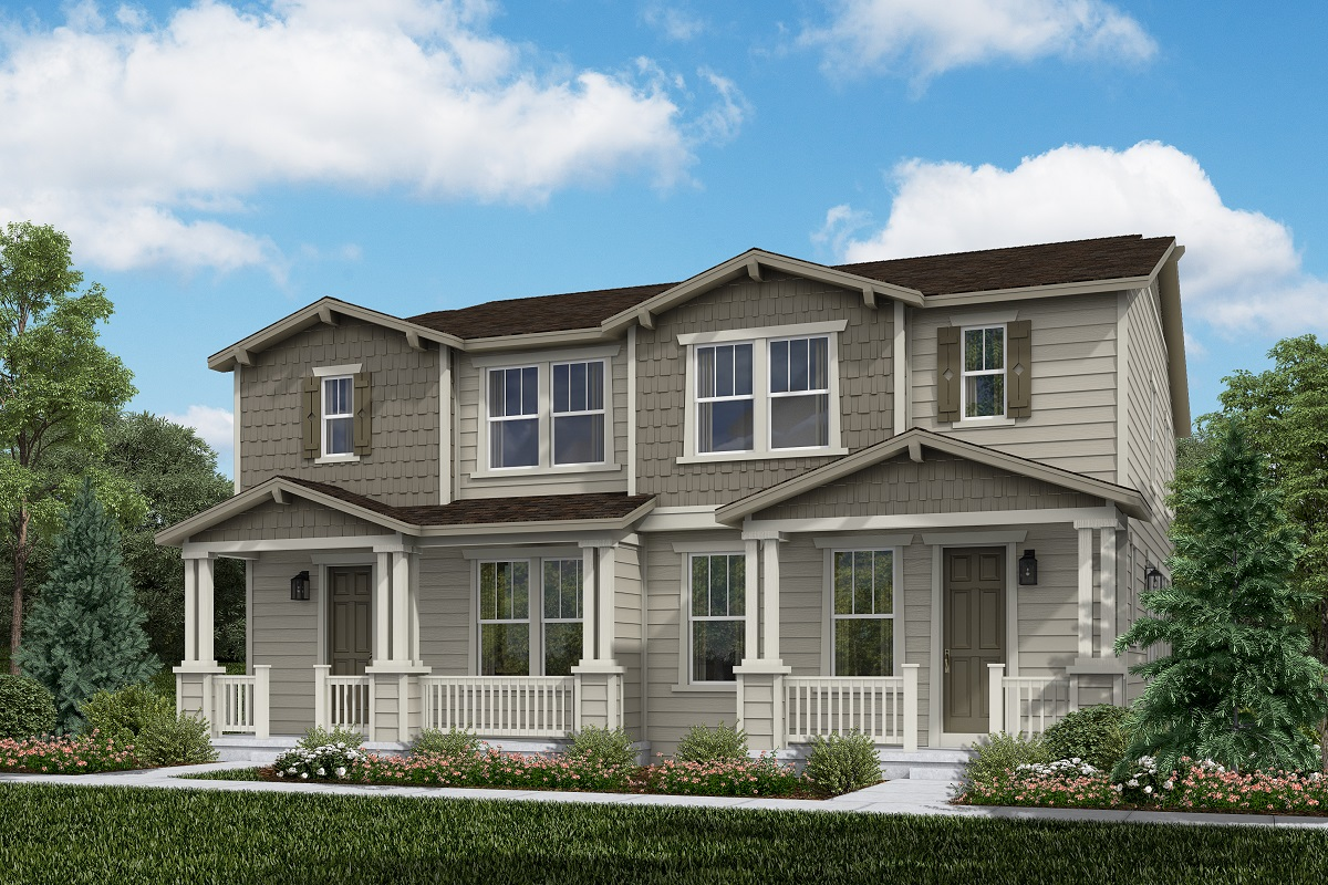 New Homes in Erie, CO - Flatiron Meadows Villas Plan 1754 & Plan 1754