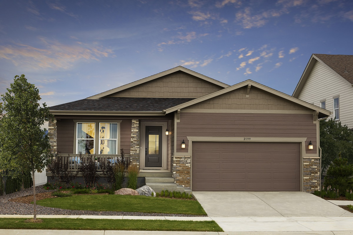 New Homes in Berthoud, CO - Plan 1821 Modeled