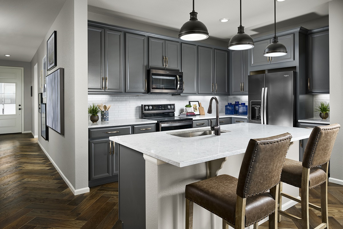New Homes in Berthoud, CO - Hammond Farm Chaucer - Kitchen