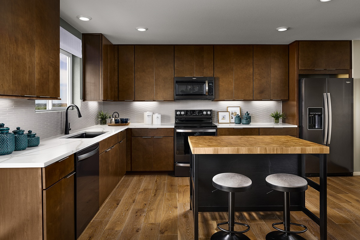 New Homes in Berthoud, CO - Hammond Farm Memory - Kitchen