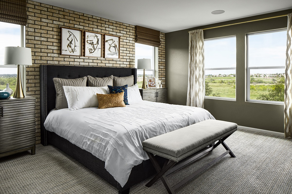 New Homes in Berthoud, CO - Hammond Farm Memory- Master Bedroom