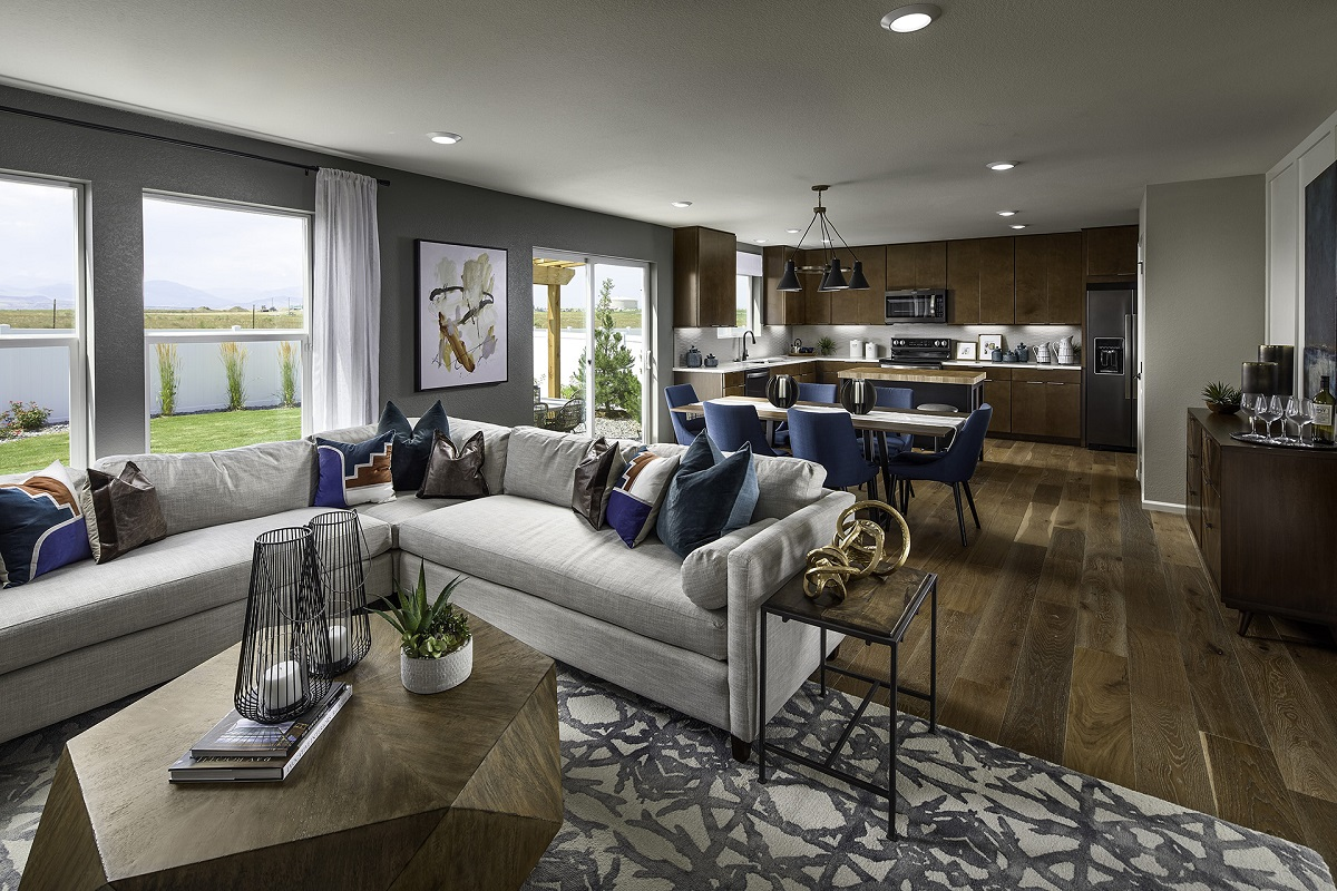 New Homes in Berthoud, CO - Hammond Farm Plan 2282 - Great Room