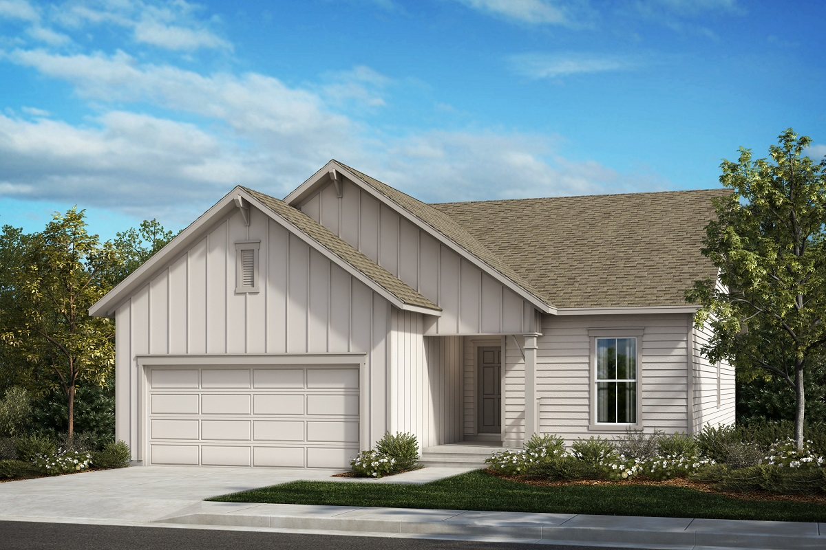 New Homes in Berthoud, CO - The Chaucer - Elevation A