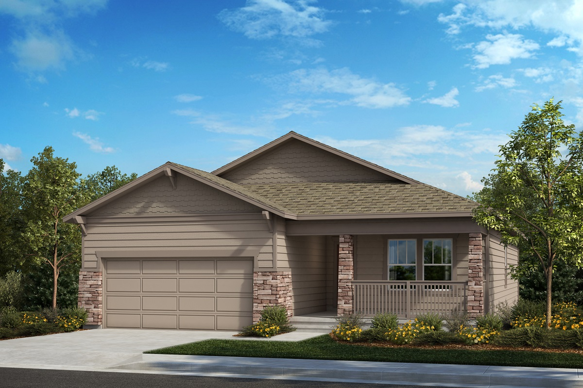 New Homes in Berthoud, CO - The Chaucer - Elevation B