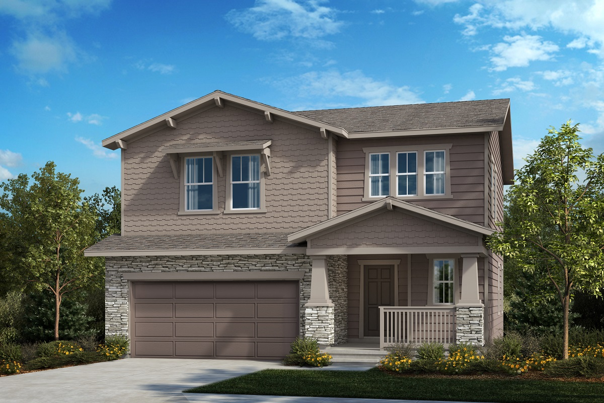 New Homes in Berthoud, CO - Plan 1923 - Elevation B