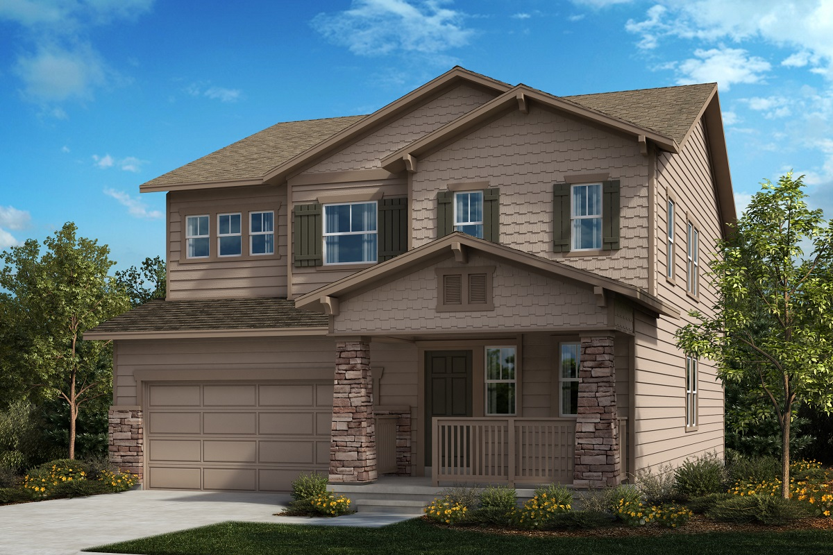 New Homes in Berthoud, CO - Hammond Farm The Sparkle - Elevation B