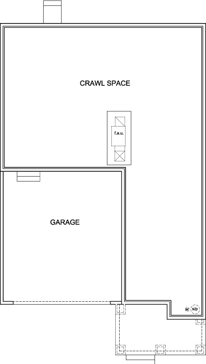 New Homes in Berthoud, CO - The Sparkle, Crawl Space