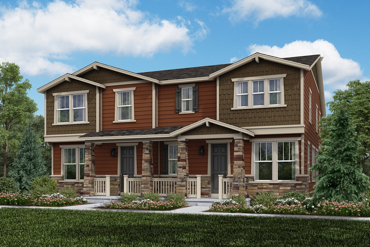 New Homes in Thornton, CO - Plan 1671 & Plan 1963