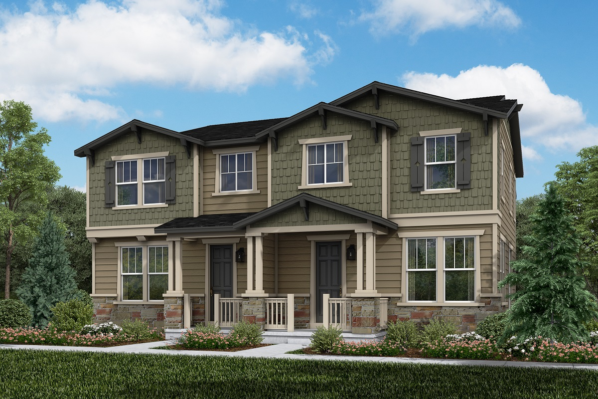 New Homes in Thornton, CO - Plan 1671 & Plan 1671
