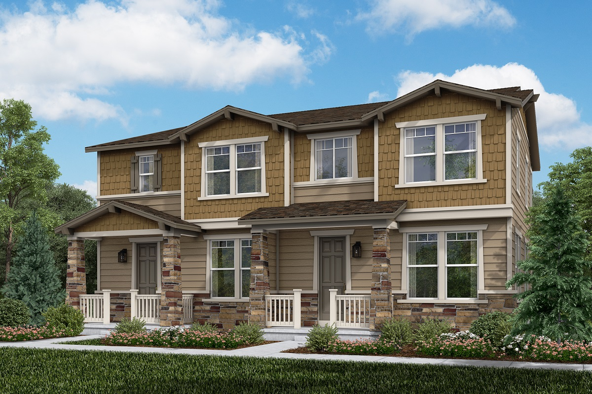 New Homes in Thornton, CO - Plan 1671 & Plan 1754