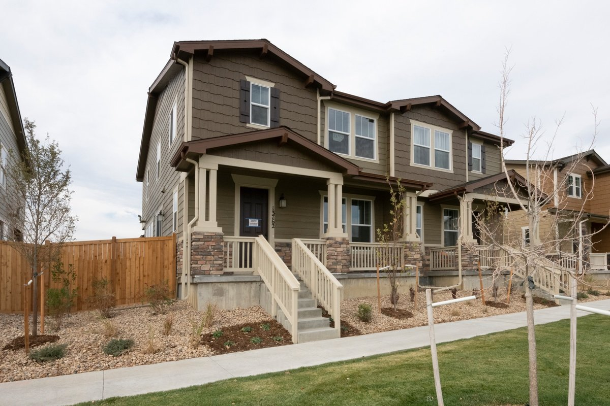 New Homes in Thornton, CO - Homestead Hills Villas Plan 1754