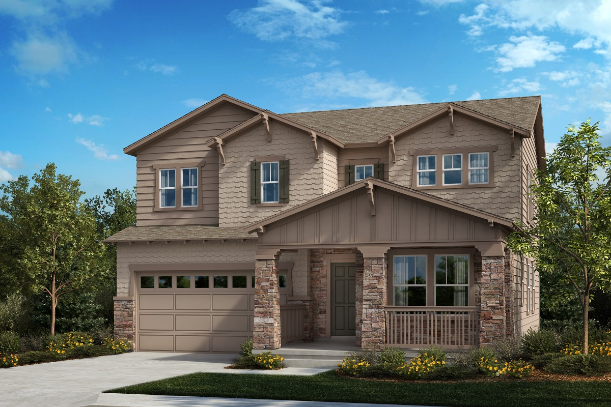 New Homes in Aurora, CO - Painted Prairie Plan 2390 Elevation B