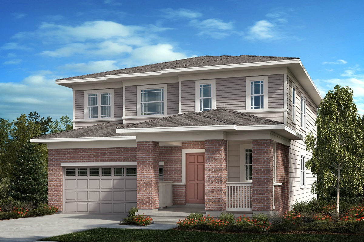 New Homes in Aurora, CO - Painted Prairie Plan 2502 Elevation C