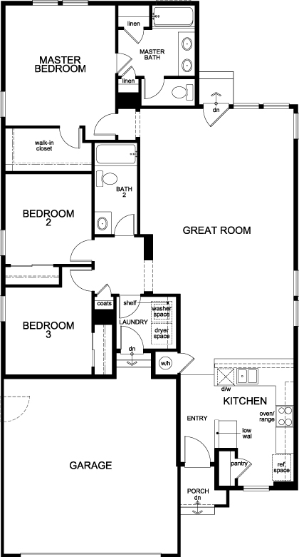 New Homes in Aurora, CO - The Aspire, First Floor