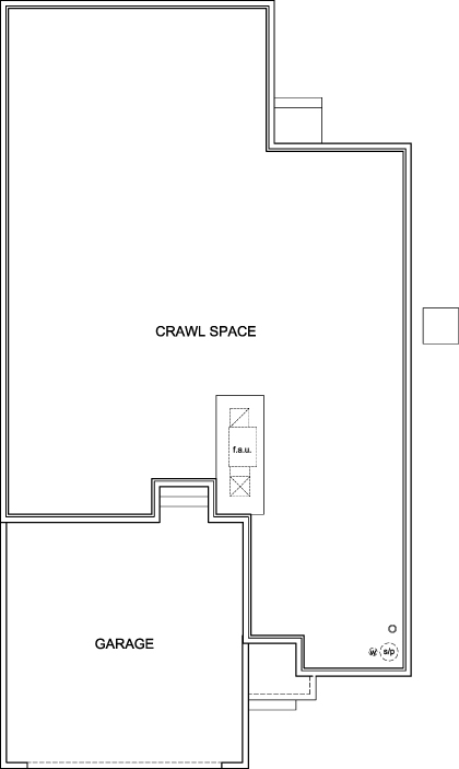 New Homes in Aurora, CO - The Aspire, Crawl Space