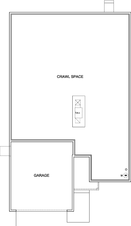 New Homes in Aurora, CO - Plan 1821, Crawl Space