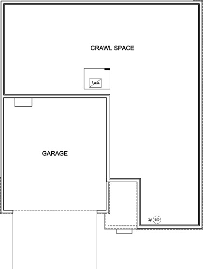 New Homes in Aurora, CO - Plan 2390, Crawl Space