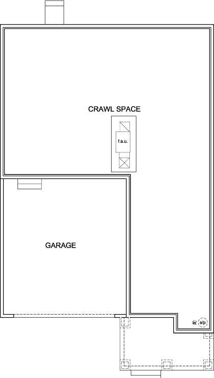 New Homes in Aurora, CO - Plan 2502, Crawl Space